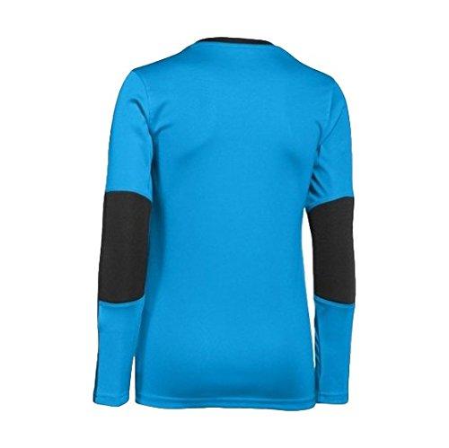 Men's Under Armour PTH Horizontal Long Sleeve Goalkeeper Jersey Capri/Black Size Large
