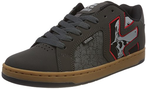 Etnies Men's Metal Mulisha Fader 2 Skate Shoe, Charcoal, 11 Medium US (2 Mens Skateboard Shoes)