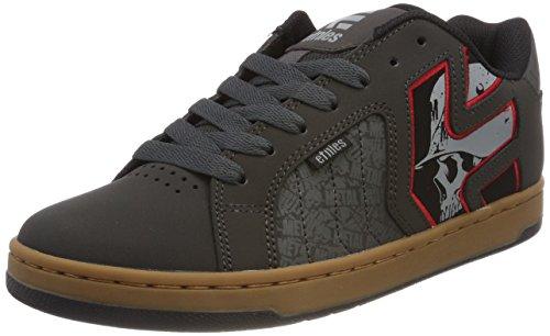 New Etnies Skateboarding Shoes - Etnies Men's Metal Mulisha Fader 2 Skate Shoe, Charcoal, 10.5 Medium US