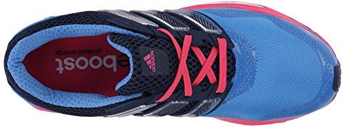 Adidas Performance Donne Di Aumentare La Risposta 2 Techfit W Scarpa Da Corsa Blu / Collegiata Blu Navy / Colore Rosa
