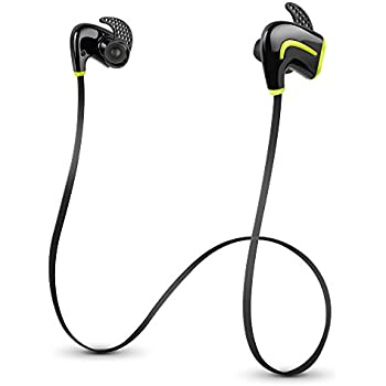 d170fb0d661 Photive PH-BTE50 Bluetooth 4.0 Wireless Sports Headphones with Built-in  Microphone