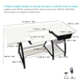 Sewing Craft Table, Adjustable Board and Side