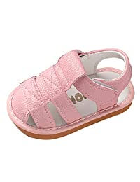 Baby Shoes Girl and Boy 9-12 Months Newborn Baby Girls Boys Roman Shoes Sandals First Walkers Soft Sole Shoes Pink