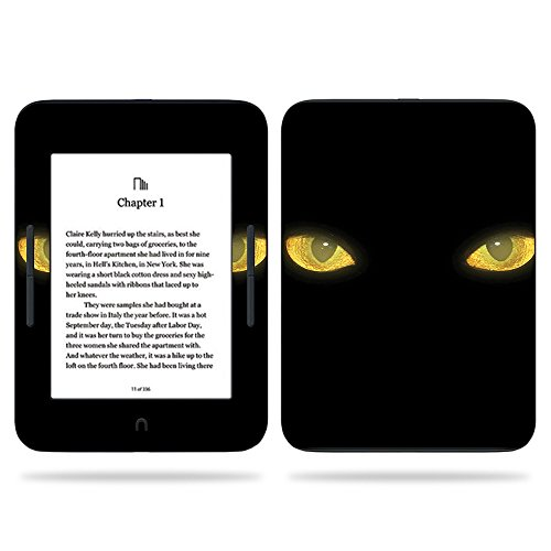 MightySkins Skin Compatible with Barnes & Noble Nook GlowLight 3 (2017) - Cat Eyes | Protective, Durable, and Unique Vinyl Decal wrap Cover | Easy to Apply, Remove | Made in The USA