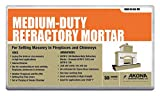Refractory Mortar, 50 lb. Container, Gray