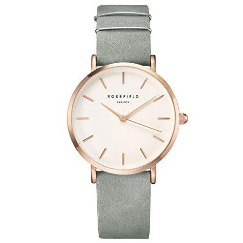 Rosefield Reloj Digital para Mujer con Correa de Cuero - WMGR-W74: Amazon.es: Relojes