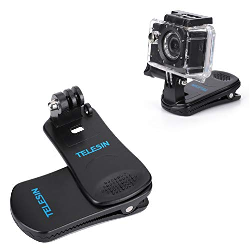 GoPro 360도에 Rotate Sports 카메라 클립, 퀵 클램프, 모자, 배낭, GoPro Hero 용 Black Session 6 5 4 2018 3 + 3 실외 용 액세서리 (For GoPro Sports Came ra Clip) / Rotate Sports Camera Clip for GoPro 360 Degree, Quick Clamp, Hat Backpa...