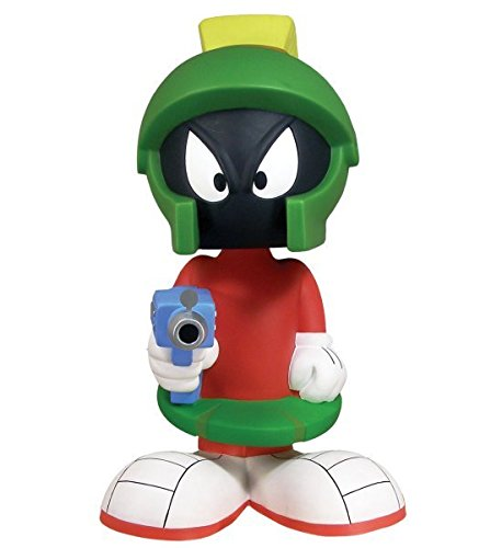 (Marvin the Martian 21 Inch Tall Bobble Head Bank by Funko 2007 - Warner Bros. Duck Dodgers In The 24½ th Century)