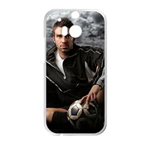 Sports soccer goalie south africa 2010 HTC One M8 Cell Phone Case White Gift xxy_9939472
