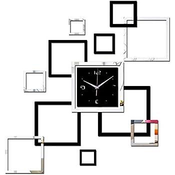 Chair-home 2017 Wall Clock DIY Watch Clocks reloj de pared horloge Vintage Large Decorative Living Room Quartz Acrylic Modern