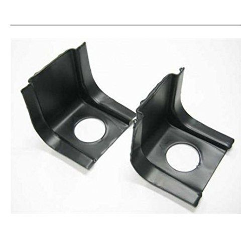 Eckler's Premier Quality Products 50207948 Chevelle or Malibu Radiator Core Support Brackets - Chevelle Core Radiator Support