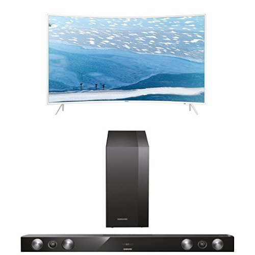 Samsung UE55KU6519 Curved Fernseher + HW-H430/EN 2.1 Soundbar