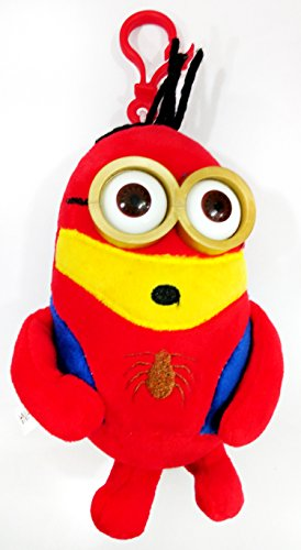 AT Shopping Spider Minion Soft Toy For Kids Red – 5.5 Inches