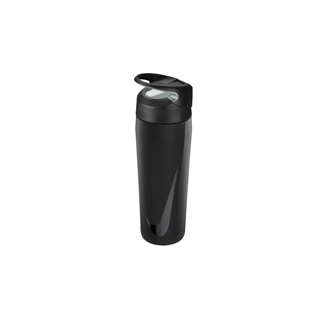Nike SS HYPERCHARGE Straw Bottle 16 OZ, Black/Anthracite