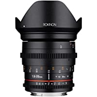 Rokinon 20mm T1.9 Cine DS AS ED UMC Wide Angle Cine Lens for Nikon