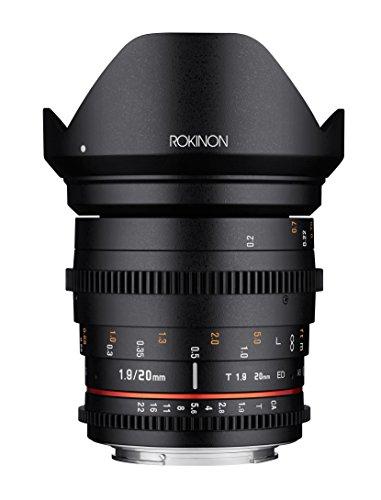 Rokinon 20mm T1.9 Cine DS AS ED UMC Wide Angle Cine Lens for Nikon