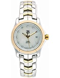Womens WJF1353.BB0581 Diamond Accented Two-Tone Link Watch