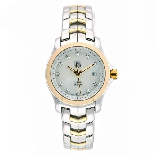 TAG Heuer Women's WJF1353.BB0581 Diamond Accented Two-Tone Link Watch