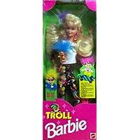 Muñeca Barbie Troll 1992 con Mini Muñeca Troll