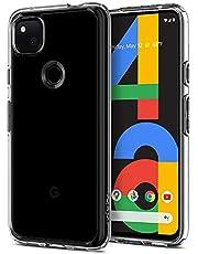 SPIGEN Ultra Hybrid Case Designed for Google Pixel 4a (2020) Air Cushion Bumper Hard Cover - Clear