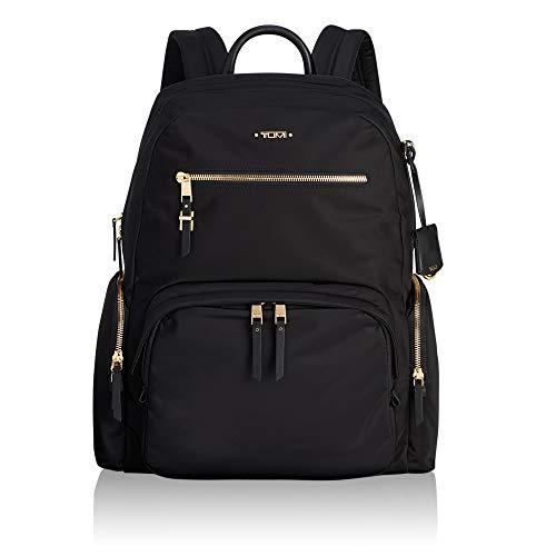 Black Tumi Backpack - TUMI Women's Voyageur Carson Backpack, Black, One Size