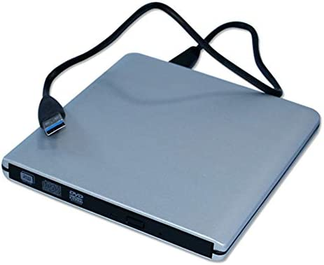 DVDドライブ PCのコンピュータのポータブルUSB 3.0アルミニウム合金の高速外付けCDドライブDVDバーナー HYFJP