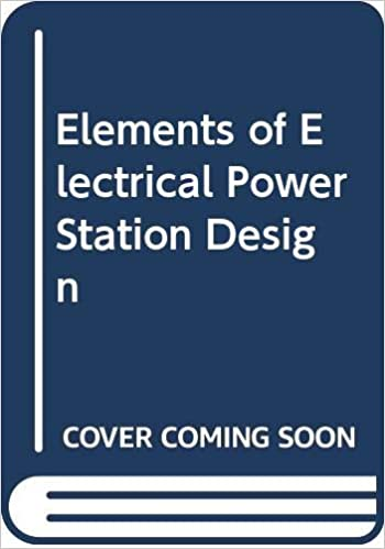 Elements Of Electrical Power Station Design Deshpande M V 9780273412427 Amazon Com Books