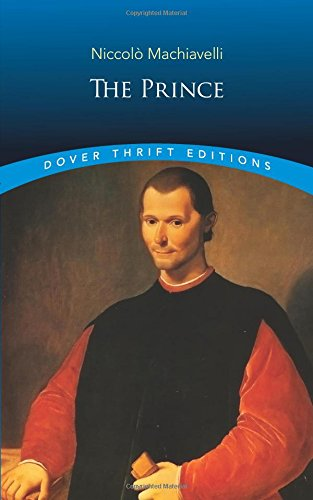 The Prince (Dover Thrift Editions) by Niccolò Machiavelli cover