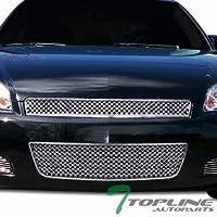 Topline Autopart Chrome Luxury Sport Vip Mesh Front Upper...