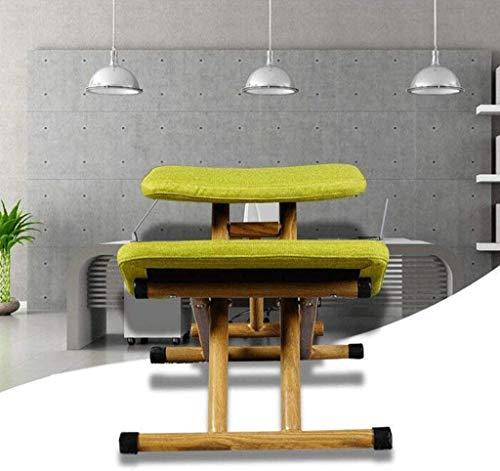 XXCC knäpall ergonomisk pall hållning pall barns hållning justering pall barns studiestol vardagsrum sovrum knä justerbar stol