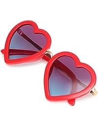 Heart Shaped Sunglasses Polarized UV Protection Kids...