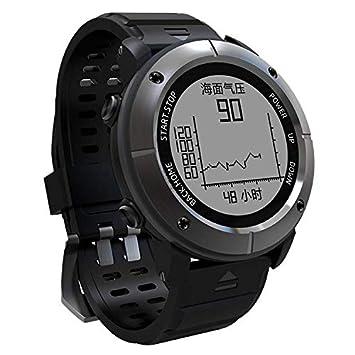 ZY UW80 Reloj Inteligente Deportes Al Aire Libre Posicionamiento GPS Reloj De Montaña SOS Natación Escalada Escalada Reloj Deportivo,Gray: Amazon.es: ...