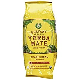 Guayaki, Yerba Mate, Loose Leaf Tea, 16 oz (454 g) 11 Organic blend of all natural superfood extracts will give you the energy you need to meet today's stresses and demands Best quality product Gluten-free and Non-GMO, Effervesce combines Authenticity with Elegance and Prestige