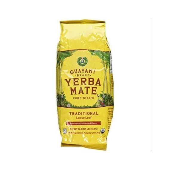 Guayaki, Yerba Mate, Loose Leaf Tea, 16 oz (454 g) 1 Organic blend of all natural superfood extracts will give you the energy you need to meet today's stresses and demands Best quality product Gluten-free and Non-GMO, Effervesce combines Authenticity with Elegance and Prestige