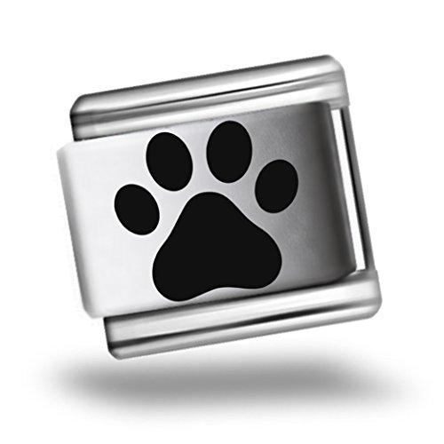 dog-paw-print-laser-etched-italian-charm-bracelet-link