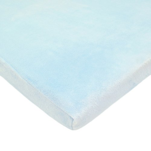 American Baby Company Heavenly Soft Chenille Fitted Cradle S