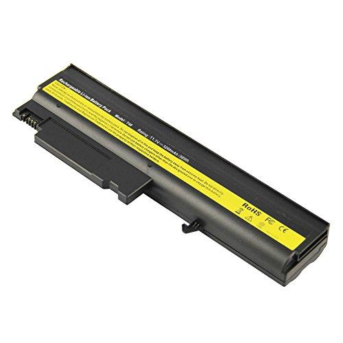 ([3-Pack] Laptop Battery for IBM ThinkPad T40 T41 T41p T42 T43 R50 R50e R50p R51 R52 Series (Standard) Laptop Battery, P/N 02K6699 08K8192 08K8193 08K8195 08K8197 08K8214 (6 Cells 11.1V 5200mAh))