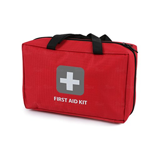 First Aid Kit - 275 Pieces - Bag. Packed with hospital grade medical supplies