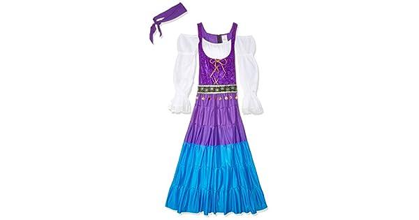 Amazon.com: Fun World gitano de la mujer luna Costume: Clothing