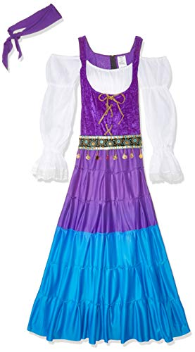 Fun World Women's Gypsy Moon Costume, Multi, Medium