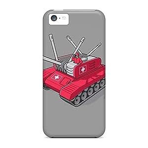 Iphone 5c Case Bumper Tpu Skin Cover For Swiss Army Tank Accessories