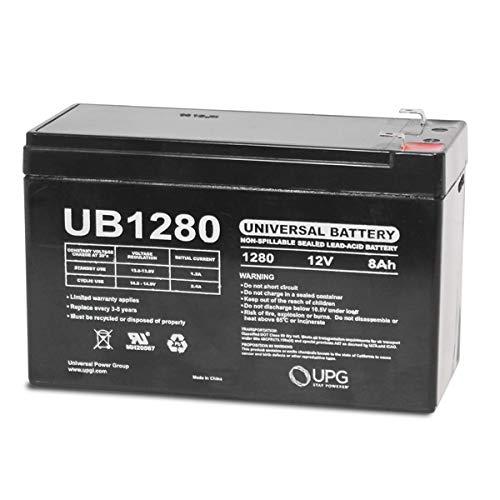 Universal Power Group UB1280 12V 8Ah Home Alarm Security System Battery UPG 4330198202