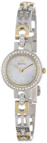 Citizen Women's EW8464-52D Eco-Drive Silhouette Swarovski Crystal-Accented Two-Tone Watch