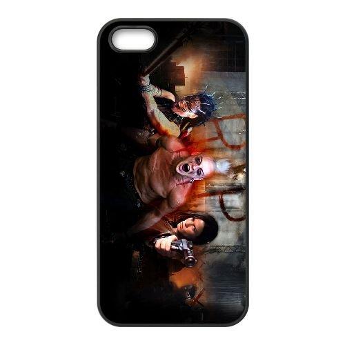 Doomsday 3 coque iPhone 5 5S cellulaire cas coque de téléphone cas téléphone cellulaire noir couvercle EOKXLLNCD23302