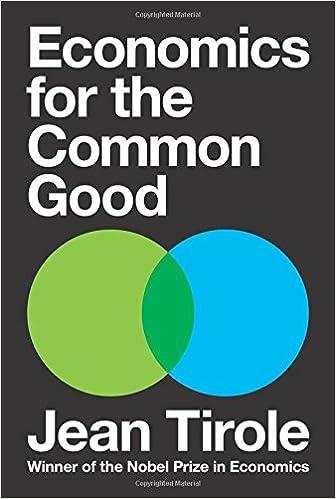 amazon economics for the common good jean tirole steven rendall