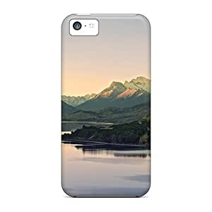 ConnieJCole Fashion Protective Wonderful Lake In New Zeal Case Cover For Iphone 5c by lolosakes