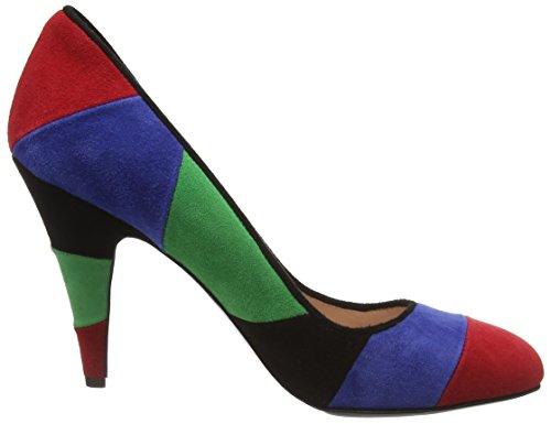 Moschino SCARPAD.LINA100 CAM.MULTICOLORE - Tacones Mujer Multicolor - Multicolor (99A)