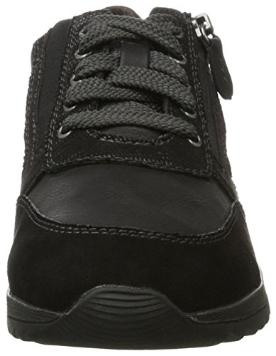 Zapatillas para Negro Black Mujer Softline 23771 Uwq6a5