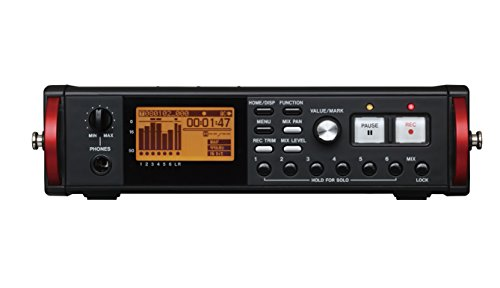 - Tascam DR-680MKII 8-Track Digital Field Audio Recorder
