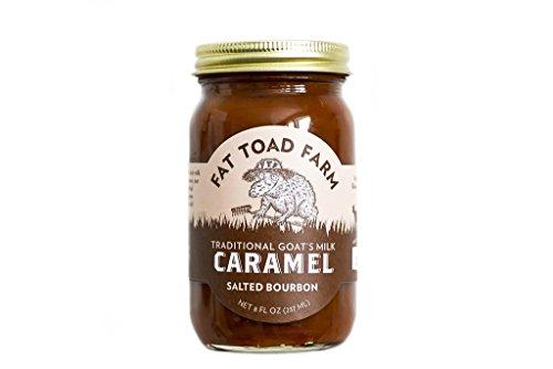 Classic Goat - Fat Toad Farm Classic Caramel Jar, Salted Bourbon, 8oz, Goat's Milk, Cajeta, Gluten-Free
